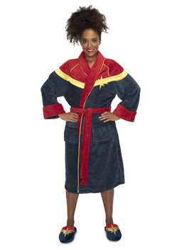 Bathrobe Marvel - Captain Marvel