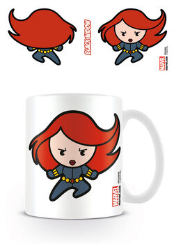 Cup Marvel Kawaii - Black Widow