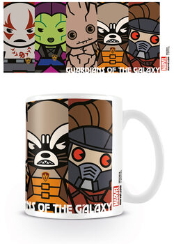 Caneca Marvel Kawaii - Guardians Of The Galaxy