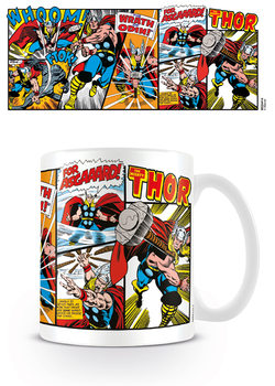 Mug Marvel Retro - Thor Panels