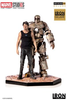 Figura MCU 10 Years - Tony Stark & Mark I