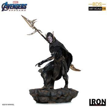 Figuras Avengers: Endgame - Black Order Corvus Glaive