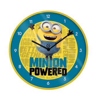 Clock Despicable Me - The Rise of Gru - Minion Powered