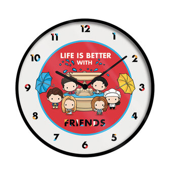 Clock Friends - Life Is Better With Friends (Chibi)
