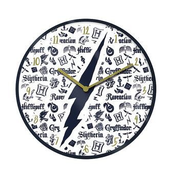 Clock Harry Potter - All Houses