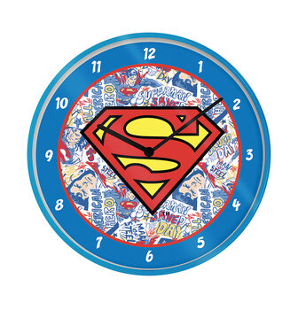 Clock Superman - Logo