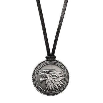 Colar Game of Thrones - Stark Shield