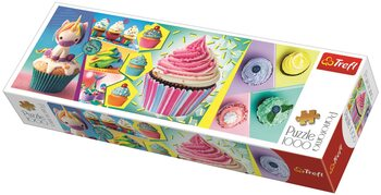 Puzzle Colorful Cupcakes