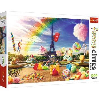 Puzzle Crazy City - Sweet Paris