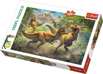 Puzzle Fighting Tyrannosaurs