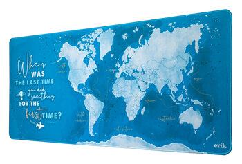 Gaming Desk Mat - World Map