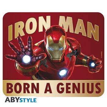 Gaming Mouse Pad Iron Man - Born to be a Genius