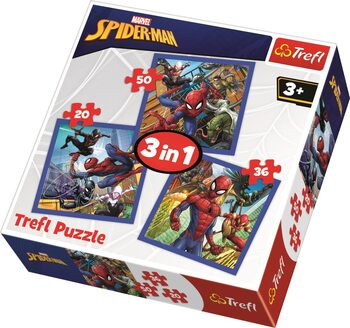 Puzzle Marvel - Spiderman 3in1