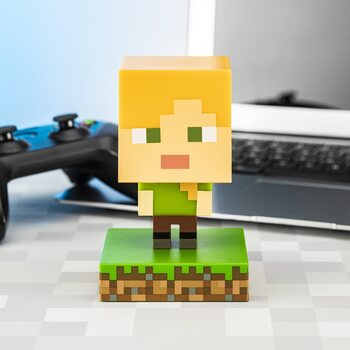 Glowing figurine Minecraft - Alex