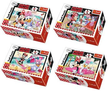 Puzzle Minnie and Daisy 4in1