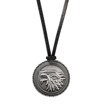 Necklace Game of Thrones - Stark Shield