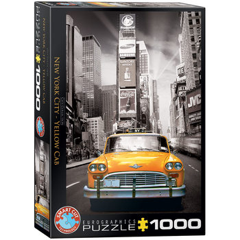 Puzzle New York City Yellow Cab