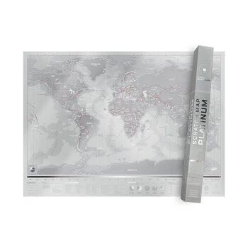 Scratch Map Platinum Edition