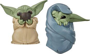 Figurine Star Wars: The Mandalorian - Baby Yoda Collection 2 pcs (Soup & Blanket)