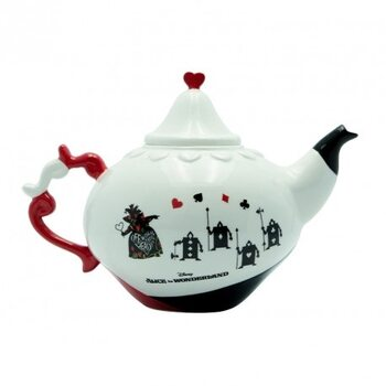 Teapot Disney - Alice in Wonderland - Queen of Hearts