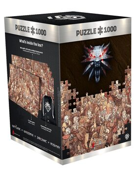 Puzzle The Witcher - Birthday