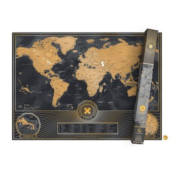 Scratch Map World X Edition