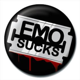 Merkit   EMO SUCKS - Razor blade