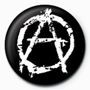 Merkit   PUNK - ANARCHY - (WHITE)