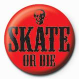 Merkit  SKATE OR DIE - red