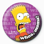 THE SIMPSONS - bart whoa, mama! Merkit, Letut