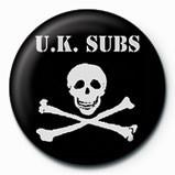 Merkit  UK SUBS - SKULL  & CROSSBO