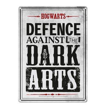 Metal sign Harry Potter - Dark Arts