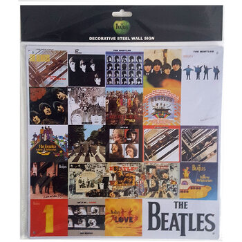 Metal sign The Beatles - Chronology
