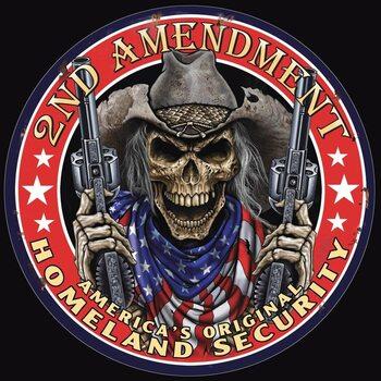 Metal sign Tin Sign -2nd Amendment
