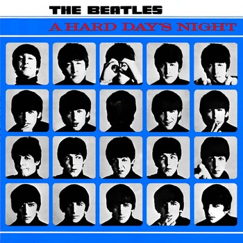 A HARD DAY'S  NIGHT ALBUM COVER Metal Sign