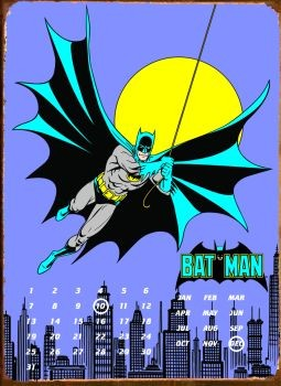 BATMAN GOTHAM CITY Metal Sign