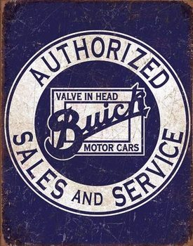 Buick - Valve in Head Metal Sign