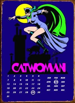 CATWOMAN Metal Sign