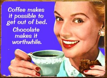 COFFEE MAKES IT POSSIBLE Metal Sign