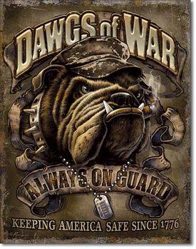 Dawgs of War Metal Sign