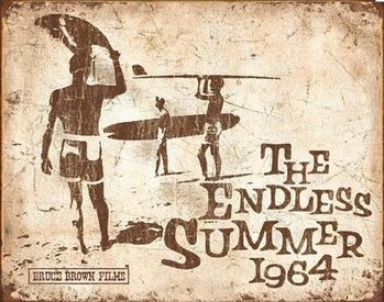 Endless Summer Retro Metal Sign