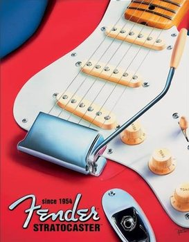 Fender - Built to Inspire Metal Sign