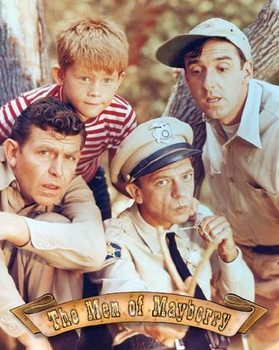 Griffith - Men of Mayberry Metal Sign