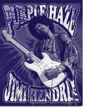 Jimi Hendrix - Purple Haze Metal Sign