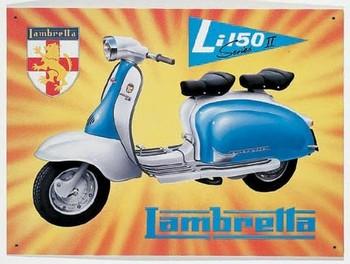 LAMBRETTA LI150 Metal Sign