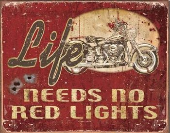 LEGENDS - Life Needs Metal Sign