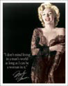 MARILYN MANS WORLD Metal Sign