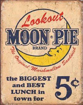 MOON PIE - Best lunch Metal Sign