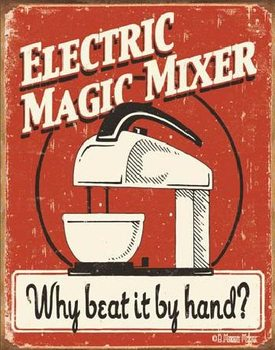 MOORE - MAGIC MIXER Metal Sign