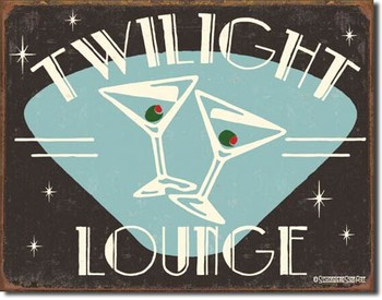 SCHOENBERG - twilight lounge Metal Sign